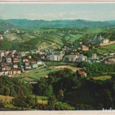 Postales: SAN SEBASTIÁN. VISTA PARCIAL DEL MONTE IGUELDO. FRANQUEADO Y FECHADO EN 1957. Lote 262682890