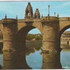 Postales: MADRID. PUENTE DE TOLEDO. FRANQUEADO SIN FECHAR CON SELLO DE 1970. Lote 262682900