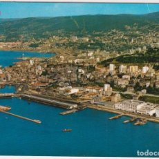 Postales: VIGO. VISTA AÉREA. FRANQUEADO Y FECHADO EN 1971. Lote 262682905