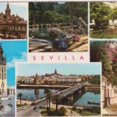 Postales: SEVILLA. VISTAS. FRANQUEADA Y FECHADA EN 1971. Lote 262682945
