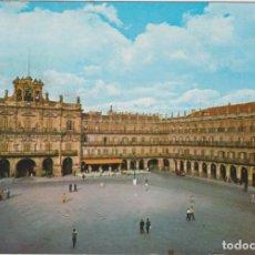 Postales: SALAMANCA. PLAZA MAYOR. FRANQUEADO Y FECHADO EN 1971. Lote 262682970