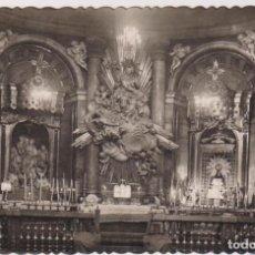 Postales: ZARAGOZA.- SANTA CAPILLA DE LA VIRGEN DEL PILAR. FRANQUEADO Y FECHADO EN 1949. Lote 262683055