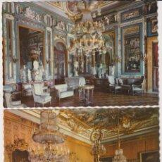 Postales: MADRID. PALACIO NACIONAL. LOTE DE 2 POSTALES. FECHADO EN 1960. Lote 262683120