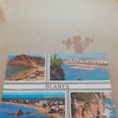 Postales: POSGAL BLANES SIN USAR PANORAMICA. Lote 263559770