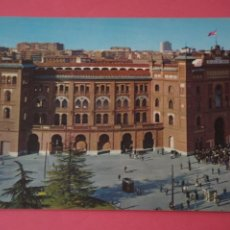 Postais: POSTAL CIRCULADA DE PLAZA DE TOROS MADRID LOTE 2 MIRAR FOTOS. Lote 266474308