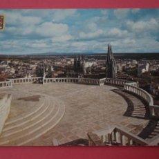 Postales: POSTAL CIRCULADA DE MIRADOR DEL CASTILLO BURGOS LOTE 3 MIRAR FOTOS. Lote 266477923