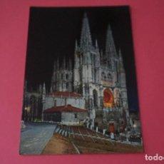 Postales: POSTAL CIRCULADA DE LA CATEDRAL BURGOS LOTE 3 MIRAR FOTOS. Lote 266477983