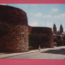 Cartoline: POSTAL SIN CIRCULAR DE MURALLA ROMANA LUGO LOTE 26 MIRAR FOTOS. Lote 267233989