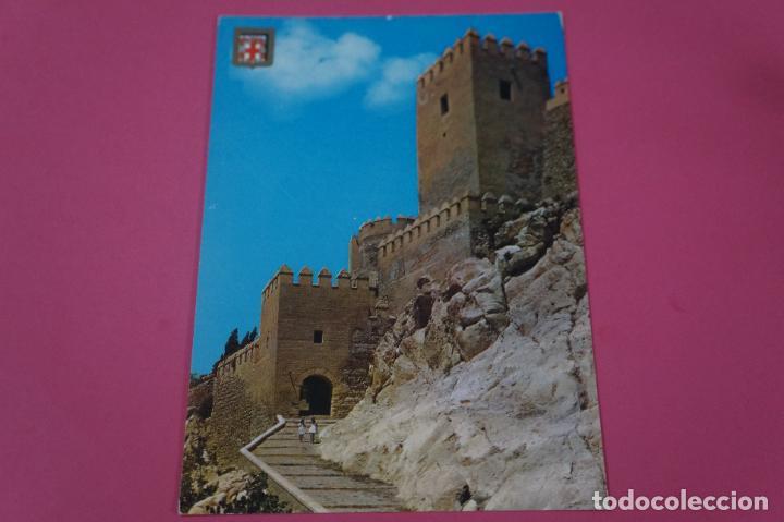 POSTAL SIN CIRCULAR DE ESCUDO DE ORO LA ALCAZABA ALMERIA LOTE 27 MIRAR FOTOS (Postales - España - Sin Clasificar Moderna (desde 1.940))