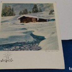 Postales: TARJETA POSTAL Nº 819 POR CARLOS PACHE 1962 ( ALBERGUE - PINTADO CON EL PIE ). Lote 267776524