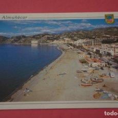 Postais: POSTAL SIN CIRCULAR DE ALMUÑECAR GRANADA PLAYA SAN CRISTOBAL LOTE 33. Lote 268266269