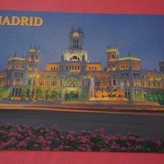 Postales: POSTAL SIN CIRCULAR DE MADRID PALACIO DE COMUNICACIONES Y PLAZA DE CIBELES LOTE 35. Lote 268284564