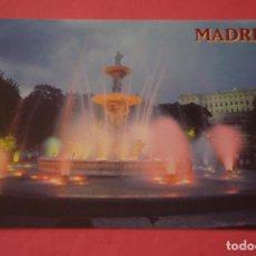 Postales: POSTAL SIN CIRCULAR DE MADRID JARDINES DEL PALACIO REAL LOTE 35. Lote 268284879