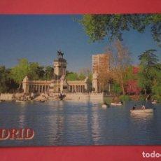 Postales: POSTAL SIN CIRCULAR DE MADRID PARQUE DEL RETIRO LOTE 35. Lote 268284974