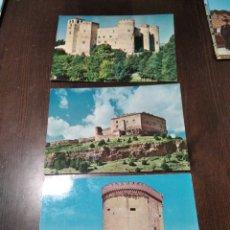 Postales: POSTALES CASTILLOS DE ESPAÑA. Lote 268843244