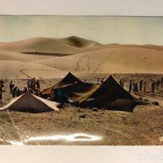 Postales: SAHARA ESPAÑOL EL AAIÚN. POSTAL NO.30051, EXCURSION A LAS DUNAS, EDIC. IRIS (A.1966) DEDICADA... Lote 269065713