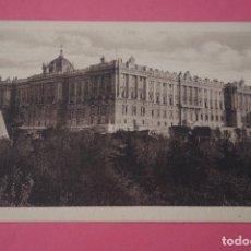 Postales: POSTAL SIN CIRCULAR BLANCO Y NEGRO DE PALACIO REAL MADRID LOTE 3. Lote 269209713