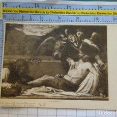Postales: POSTAL ARTE. SIGLO XIX - 1905. CIEN OBRAS ARTÍSTICAS DEL DIRECTOR LA ESPAÑA MODERNA SR LÁZARO 21 342. Lote 269489153