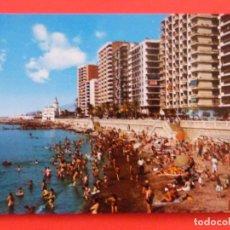 Postales: POSTAL SIN CIRCULAR DE PLAYAS DE LA MALAGUETA MALAGA LOTE 39. Lote 269828953