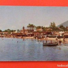 Postales: POSTAL SIN CIRCULAR DE PLAYAS DE MARBELLA MALAGA LOTE 39. Lote 269829148