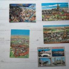 Postales: LOTE 5 POSTALES ESPAÑA. Lote 269835568