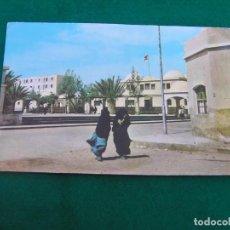 Postales: POSTAL DEL SAHARA ESPAÑOL. (PLAZA DE ESPAÑA DE EL AAIUN)) FOTO EN COLOR. EN BLANCO. AÑOS 60.. Lote 271332683