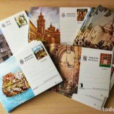 Postales: LOTE 135 UNIDADES DE TARJETAS POSTALES (ENTERO POSTAL) CIUDADES DE ESPAÑA -NUEVAS. Lote 276024338