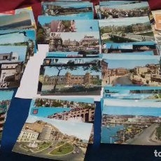 Postales: LOTE MAS DE 125 POSTALES DE ESPAÑA AÑOS 60 Y 70 CIRCULADAS CON SELLO Y ALGUNA SIN CIRCULAR. Lote 277194443