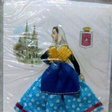 Cartes Postales: TARJETAS POSTALES ESPANOLAS BORDADAS. Lote 277384718