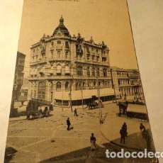 Postales: ESPANA VIGO PUERTA DEL SOL FOTOTIPIA HAUSER MENET 1910. Lote 277406353
