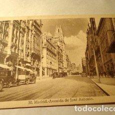 Postales: ESPANA MADRID AVDDE JOSE ANTONIO 1930 EXCELESTADO. Lote 277406708