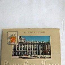 Postales: POSTALES PALACIO DE REAL MADRID. Lote 277408768