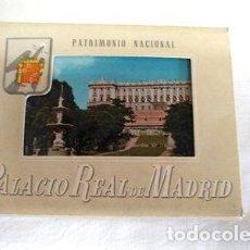 Postales: 10 POSTALES DEL PALACIO REAL DE MADRID. Lote 277410448