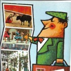 Postales: POSTAL RECUERDO DE ESPAÑA REF. 1954 EDITORIAL SAVIR AÑO 1972*. Lote 277522098