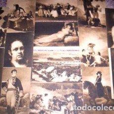 Postales: 8 HERMOSAS POSTALES ANTIGUAS OBRAS DE GOYA MUSEO DEL PRADO. Lote 278857043