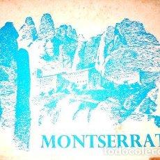 Postales: MONATERIO MONSERRAT ESPANA LOTE 10 POSTALES ANTIGUA. Lote 278857733