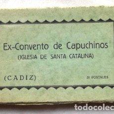 Postales: POSTALES ESPANOLAS EX CONVENTO DE CAPUCHINOS CADIZ X 20. Lote 278858858