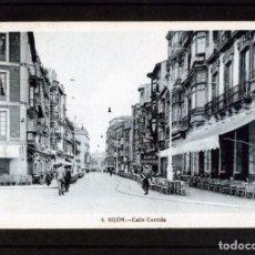 Postales: POSTAL DE GIJON (CALLE CORRIDA)-CIRCULADA Y FRANQUEADA FECHADA EL 19-09-1945 .. Lote 282868448