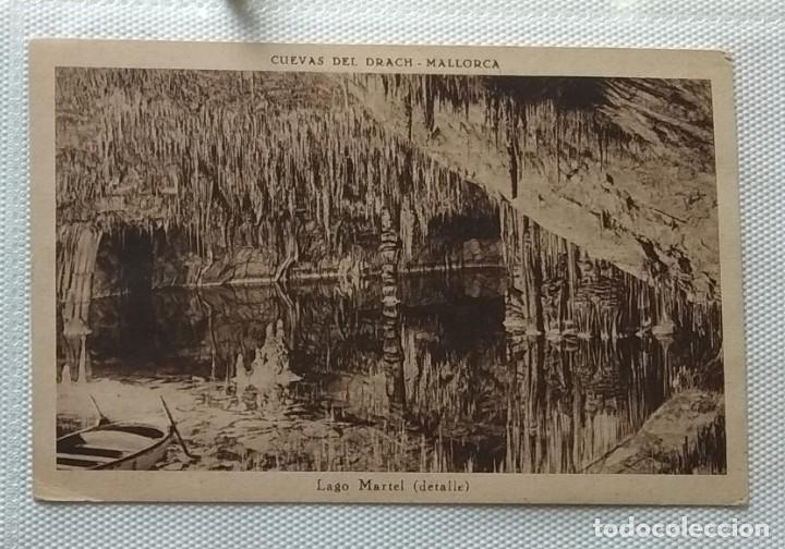 Postales: Lote de cuatro postales antiguas. Lonja Valencia, Sevilla, Cuevas Drach, Virgen Puente - Foto 3 - 286873893
