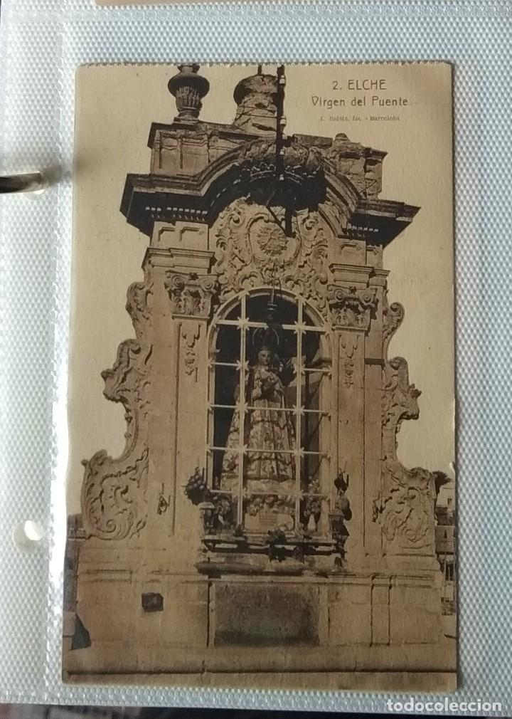 Postales: Lote de cuatro postales antiguas. Lonja Valencia, Sevilla, Cuevas Drach, Virgen Puente - Foto 4 - 286873893