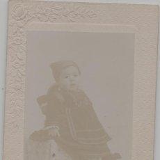 Cartoline: LOTE B- POSTAL FOTOGRAFIA ANTIGUA MADRID TRAJE REGIONAL. Lote 286985023