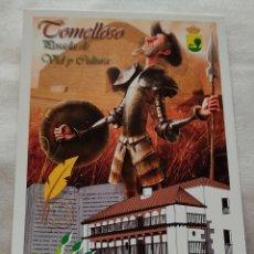 Postales: TOMELLOSO POSADA DE LOS PORTALES. Lote 287987353