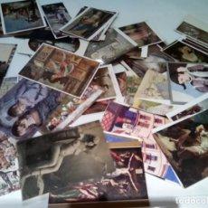 Postales: LOTE DE APROXIMADAMENTE 200 POSTALES TEMA PINTURA , LIQUIDACION. Lote 287987913