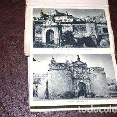 Postales: LOTE 11 ANTIGUAS POSTALES ESPANOLAS PAISAJES TOLEDO DESPLEGA. Lote 288295143
