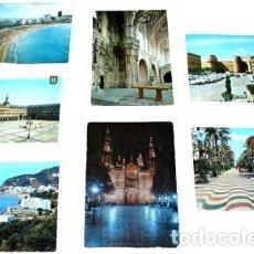 Postales: LOTE POSTALES PAISAJES DE ESPANA Y CANARIAS. Lote 288295343