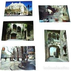 Postales: LOTE POSTALES PAISAJES DE CATALUNA BARCELONA. Lote 288295353
