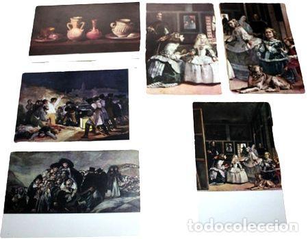 LOTE POSTALES MUSEO DEL PRADO MENINAS (Postales - España - Sin Clasificar Moderna (desde 1.940))