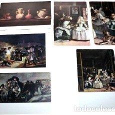 Postales: LOTE POSTALES MUSEO DEL PRADO MENINAS. Lote 288295588