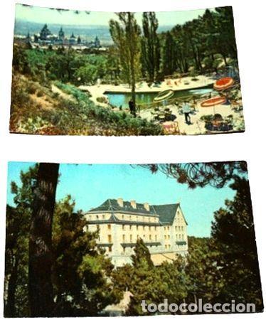 LOTE POSTALES HOTEL FELIPE II SAN LORENZO DE EL ESCORIAL (Postales - España - Sin Clasificar Moderna (desde 1.940))