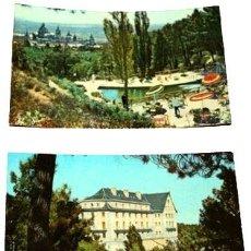 Postales: LOTE POSTALES HOTEL FELIPE II SAN LORENZO DE EL ESCORIAL. Lote 288295928